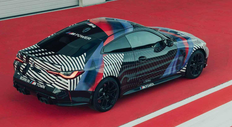 BMW M4 2021 года