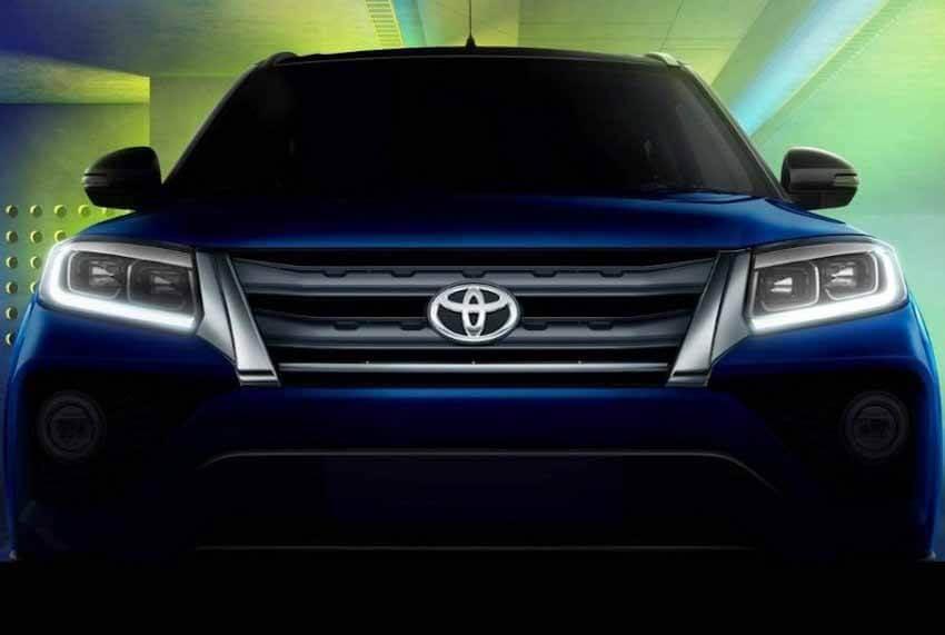 Компактный кроссовер Toyota Urban Cruiser