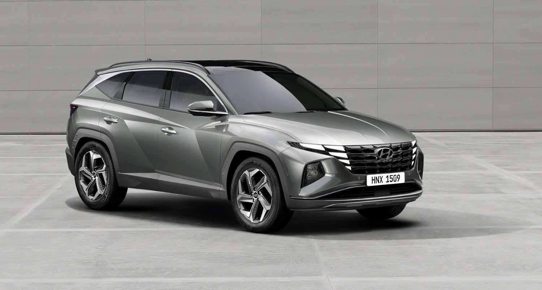 Hyundai Tucson 2021 года