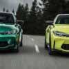 Новые BMW M3 и M4 вышли в двух вариантах, с МКПП и огромными «ноздрями» - Двигатель.