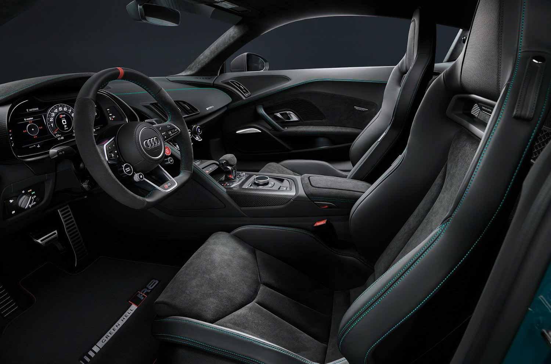 Audi R8 зеленый ад издание