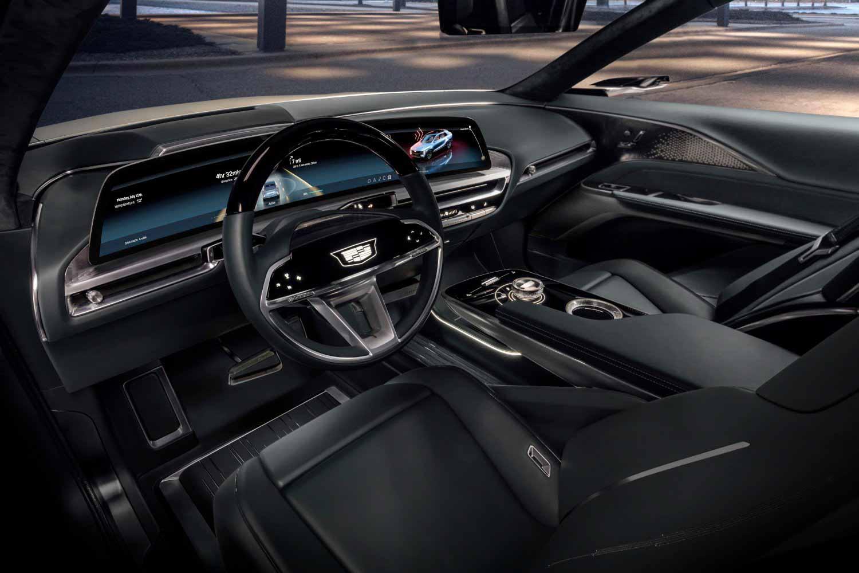 Электрический кроссовер Cadillac Lyriq