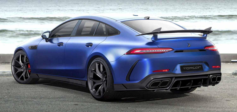 Mercedes-Benz AMG GT 4-дверное купе