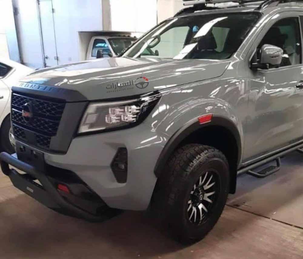 Nissan Navara 2021 года