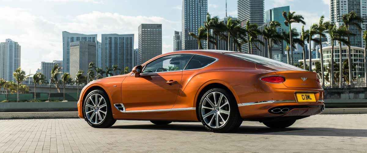 Bentley Continental GT с V8