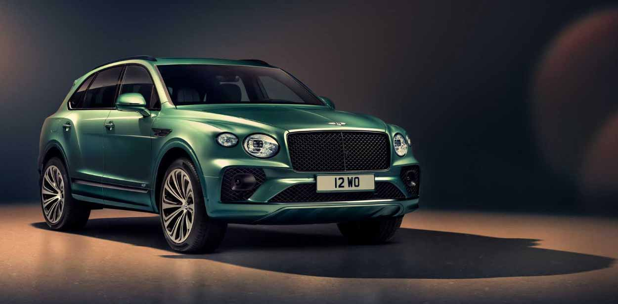 Bentley Bentayga 2021 года