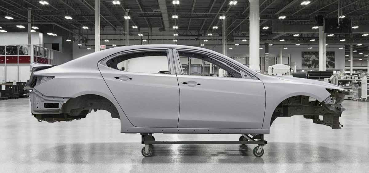 Acura TLX ручной сборки
