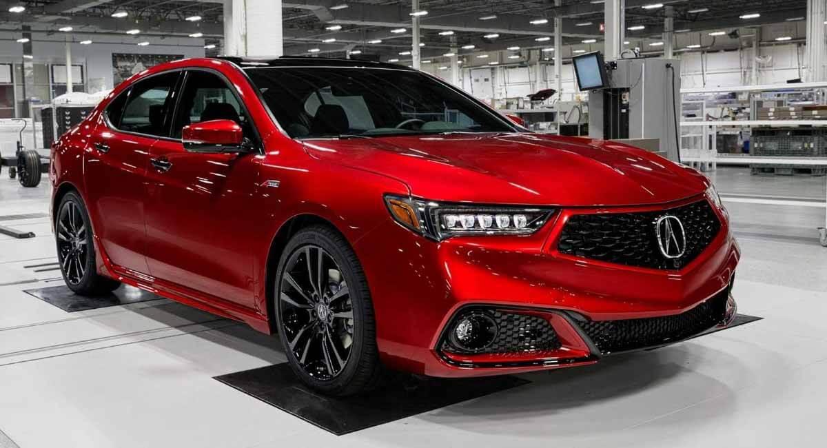 Acura TLX, собранный вручную