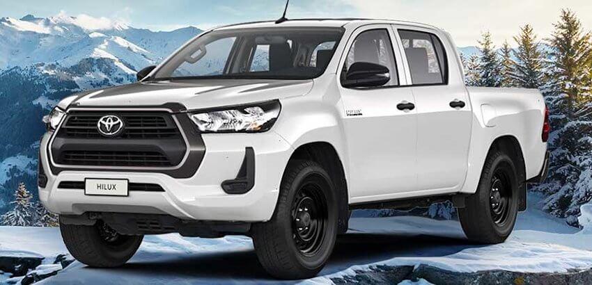 Toyota Hilux с бензиновым двигателем